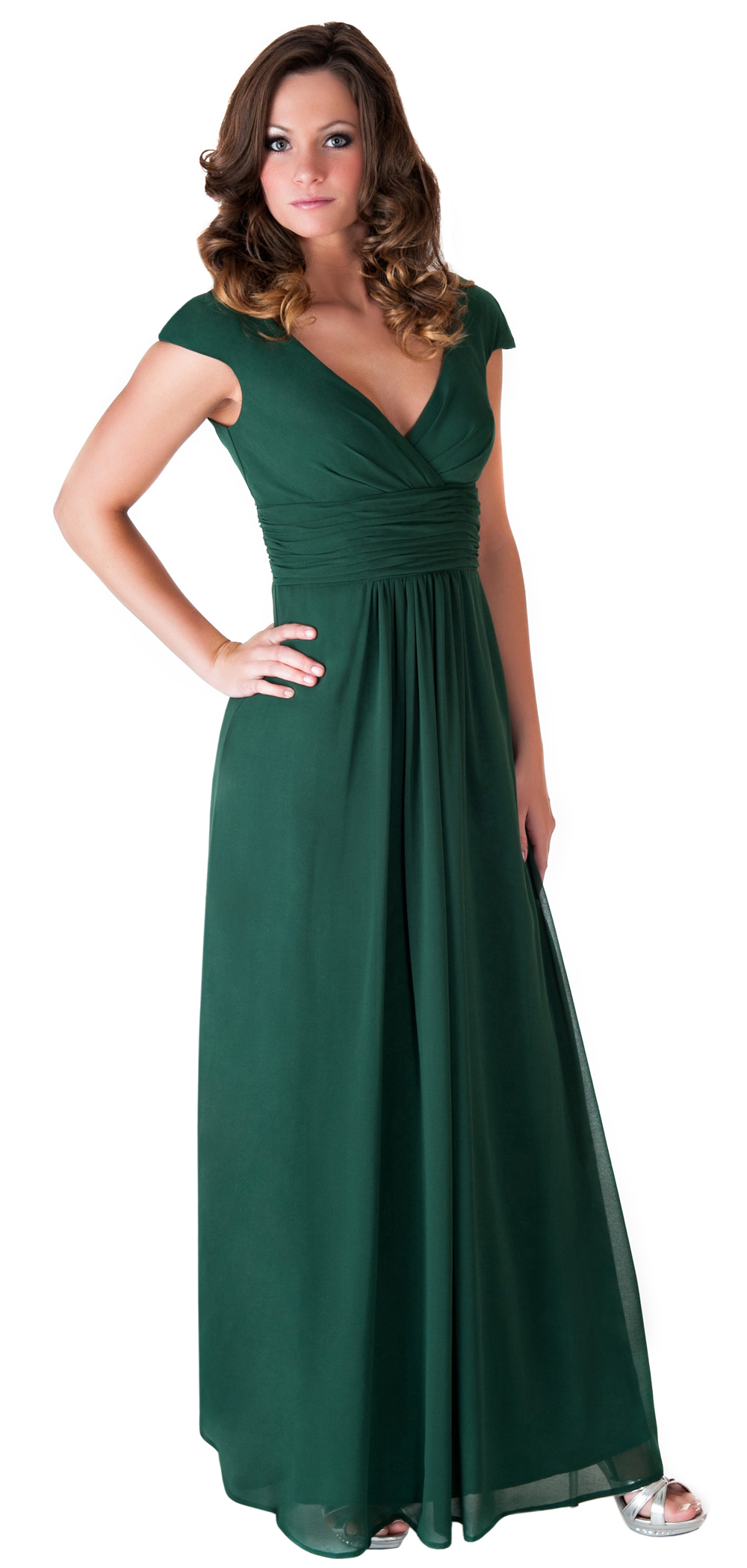 Formal Dress Elegant Women Long Evening Gown Bridesmaid ...
