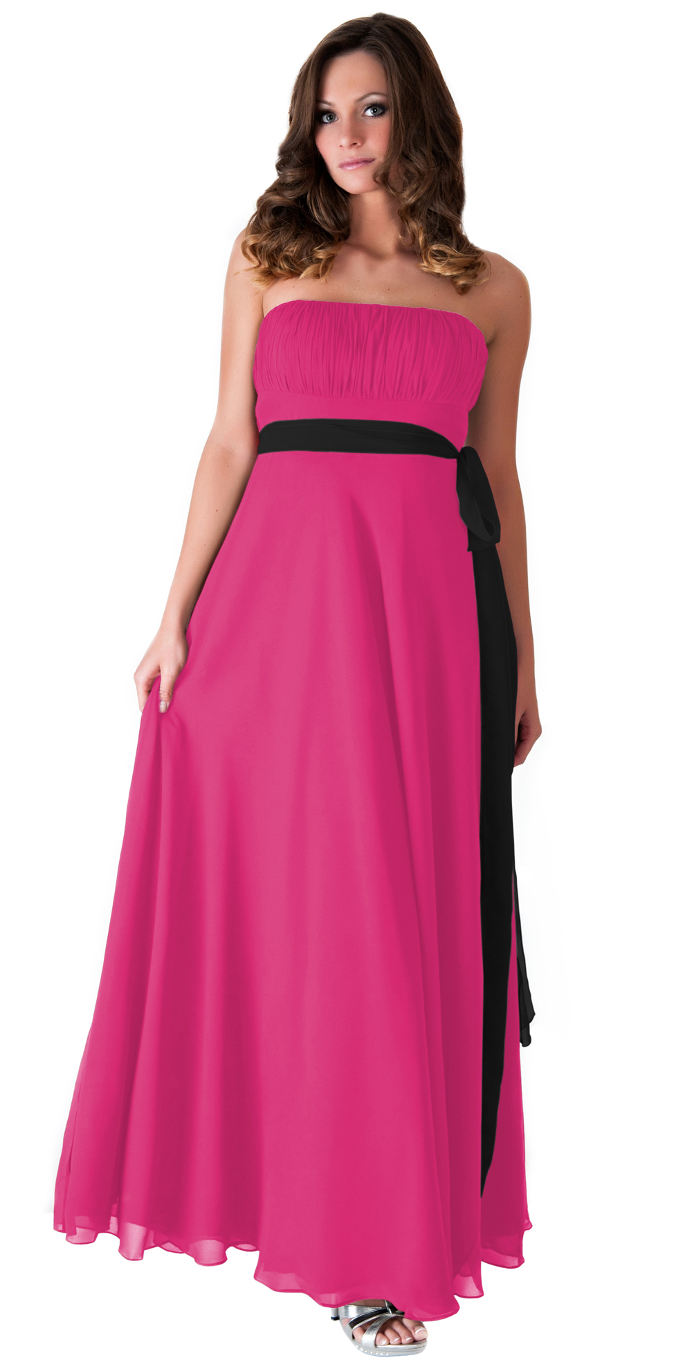 Formal Dress Long Evening Gown Bridesmaid Wedding Party Prom XS ...