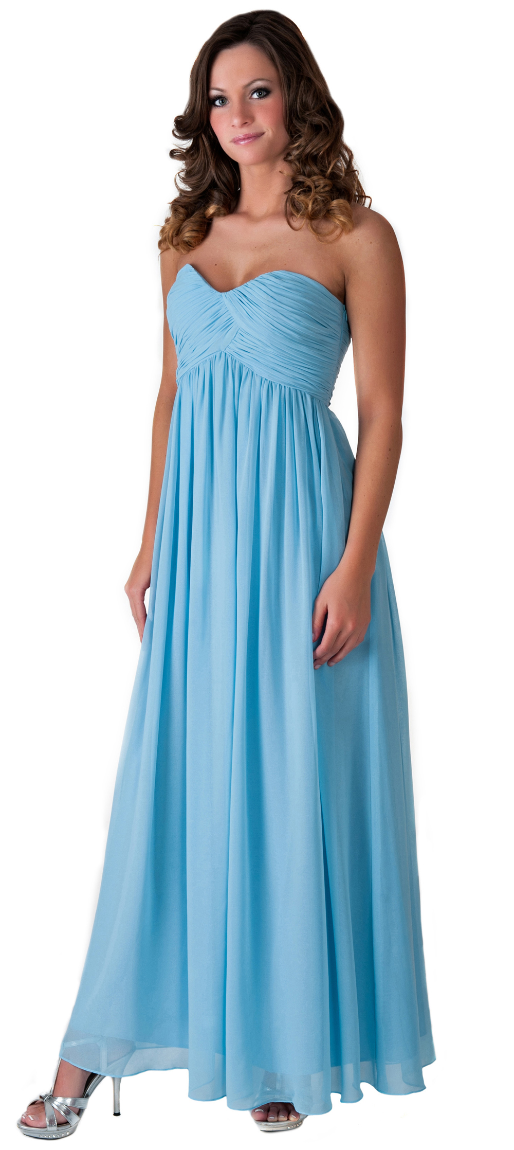 Formal Dress Full Length Evening Gown Bridesmaid Wedding Party Prom ...