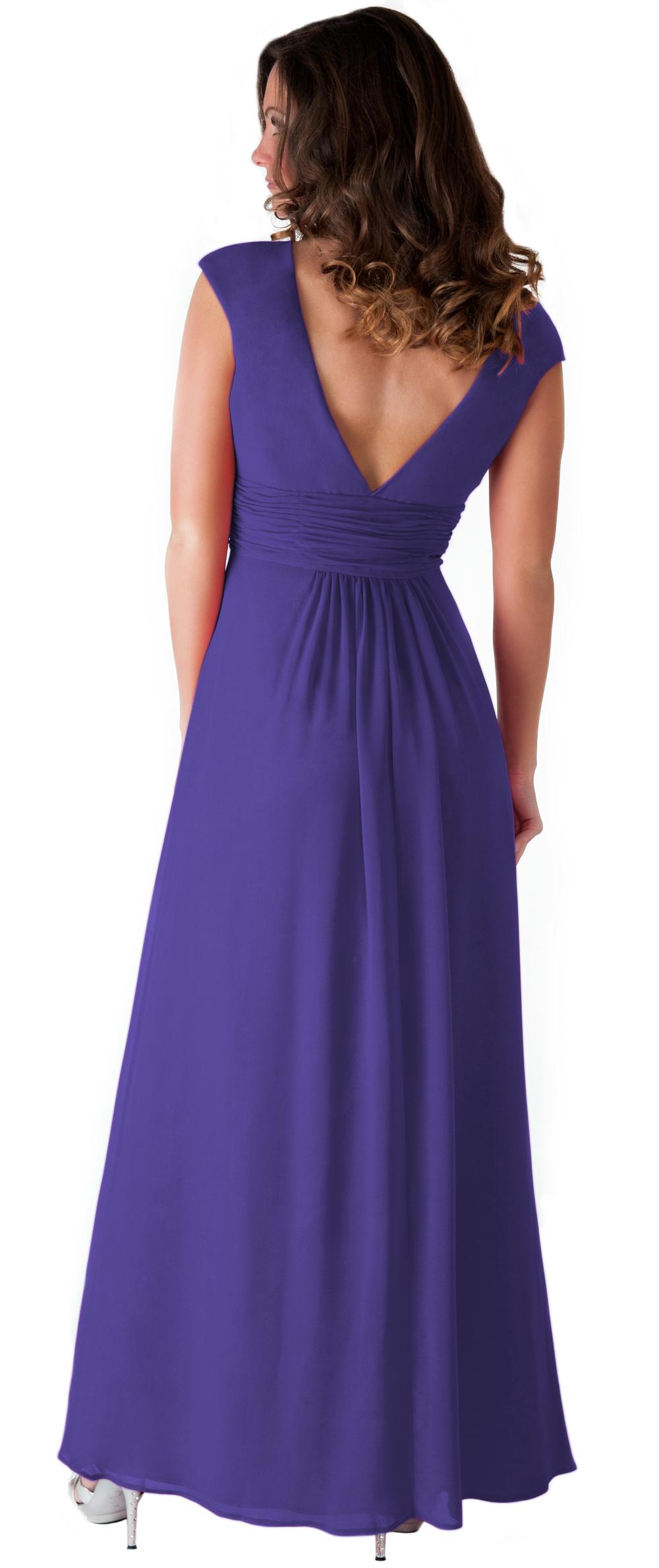Formal Dress Elegant Women Long Evening Gown Bridesmaid Wedding ...