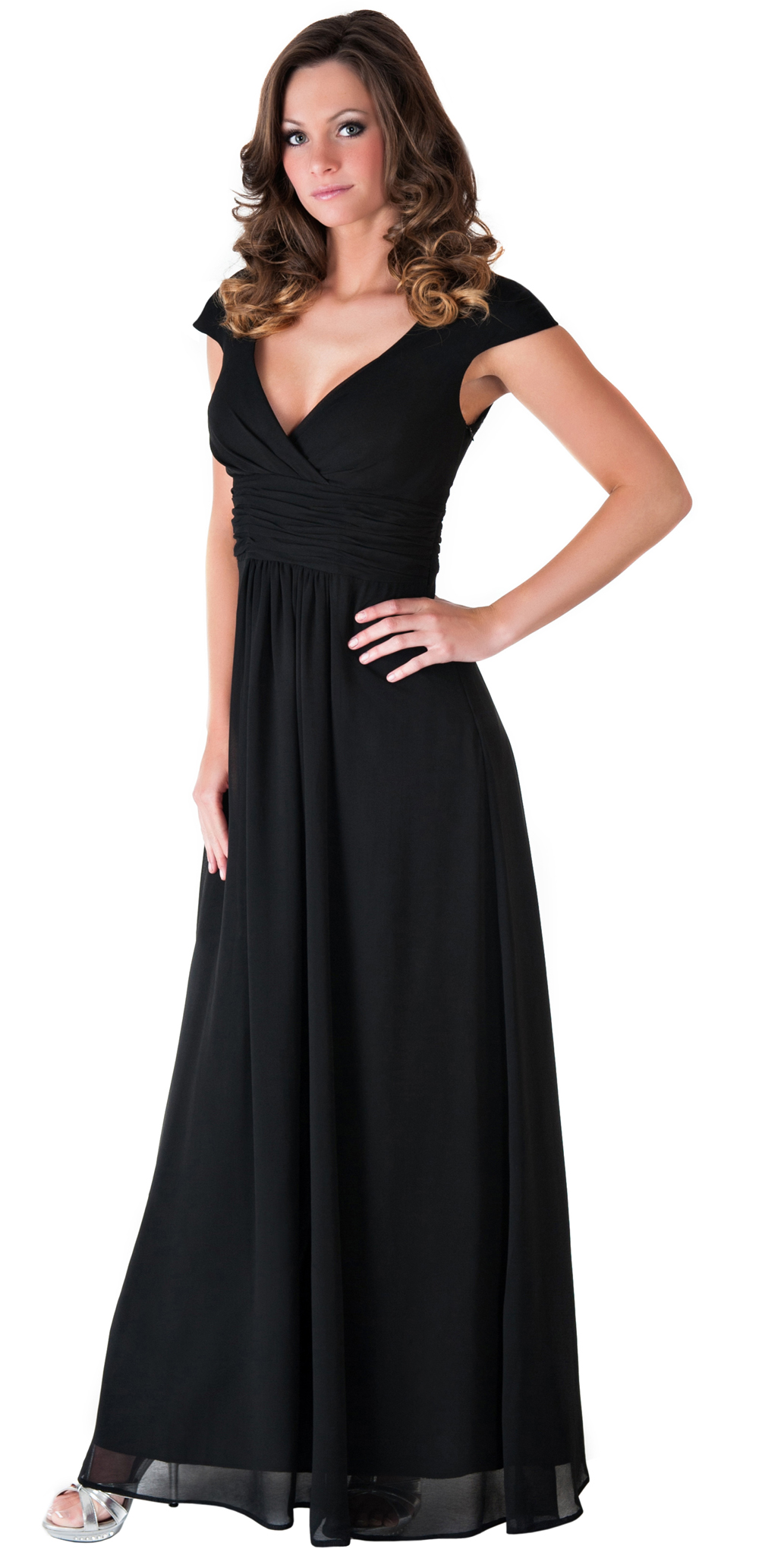 Formal Dress Elegant Women Long Evening Gown Bridesmaid ...